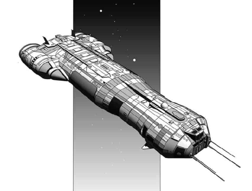 Ships of Clement Sector 5: Traders and Scouts